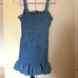 Dresses & Skirts - Denim smocked dress